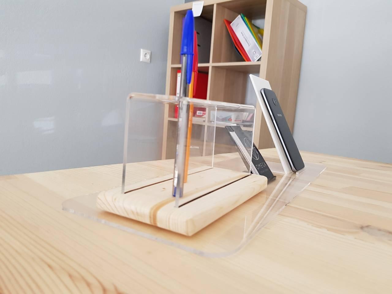 Κατασκευη Plexiglass - Laser κοπη Plexiglass - Ειδη γραφειου